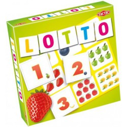 GRA TACTIC LOTTO LICZBY I OWOCE