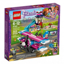 LEGO FRIENDS 41343 LOT SAMOLOTEM NAD HEARTLAKE