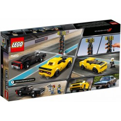 LEGO SPEED 75893 Dodge Challenger SRT i Charger RT