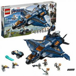 LEGO 76126 SUPER HEROES WSPANIAŁY QUINJET AVENGERS