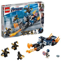 LEGO AVENGERS Captain America Outrid Attack 76123