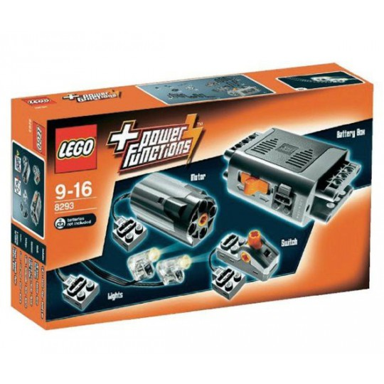 LEGO 8293 TECHNIC SILNIK POWER FUNCTIONS