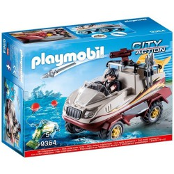 Playmobil City Action Amfibia 9364 z silnikiem