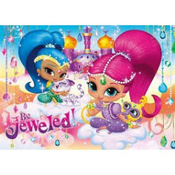 Clementoni Puzzle 100 Maxi Shimmer and Shine