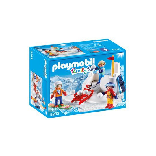 Playmobil Family Fun 9283 BITWA NA ŚNIEŻKI
