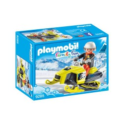 Playmobil Family Fun 9285 Skuter śnieżny