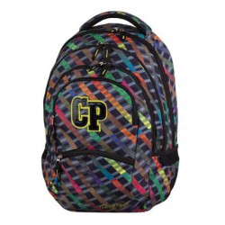 PLECAK COOLPACK RAINBOW STRIPES COLLEGE+PLAN LEKCJ