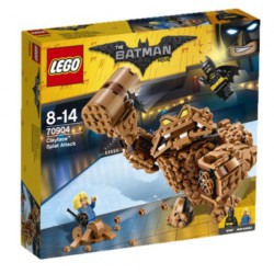 LEGO BATMAN MOVIE Atak Clayface'a 70904