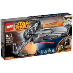 LEGO STAR WARS 75096 Sith Infiltrator + Darth Maul