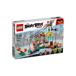 LEGO 75824 ANGRY BIRDS Demolka W Pig City