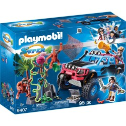 PLAYMOBIL 9407 Monster Truck Alex i Rock Brock