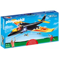 PLAYMOBIL 5219 RACE GLIDER SZYBOWIEC LED